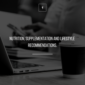 NUTRITION STARTER SESSION | CUSTOMIZED 30-DAY