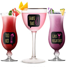 Load image into Gallery viewer, Lulu & You Bachelorette Party Wine Glass Drink Markers