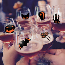 Load image into Gallery viewer, Helloween Party Wine Glass Markers