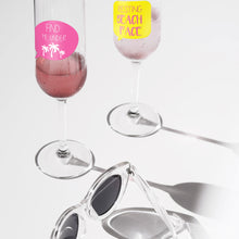 Load image into Gallery viewer, Summer Party Wine Glass Markers