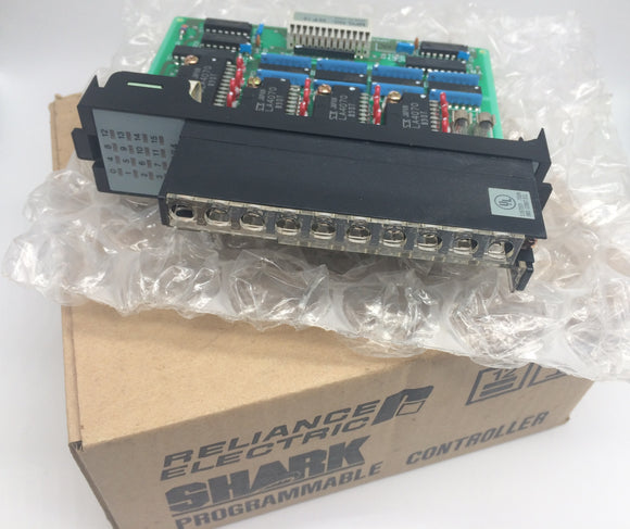 NEW RELIANCE ELECTRIC OUTPUT MODULE P/N 45C964, 16 POINT, 24VDC, PNP EM/H200
