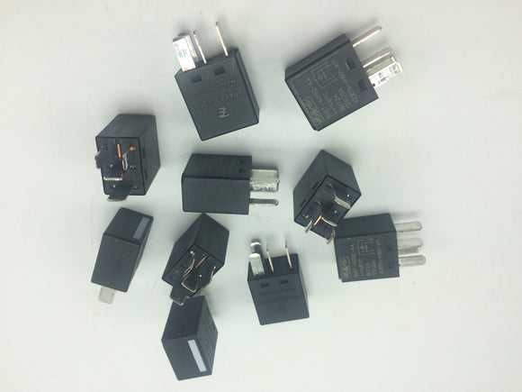 NEW LOT OF 10 FO MO CO. AUTO RELAY P/N 5M5T-14B192-AA/V20374-A1801-X17/PA66-GF25