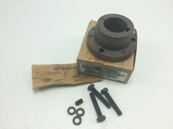 NEW DODGE QD BUSHING, P/N 117382, SH-30MM, 8 X 3.3MM KW