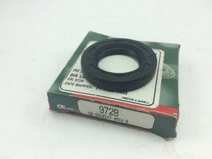 NEW CHICAGO RAWHIDE NITRILE OIL SEAL, P/N 9728