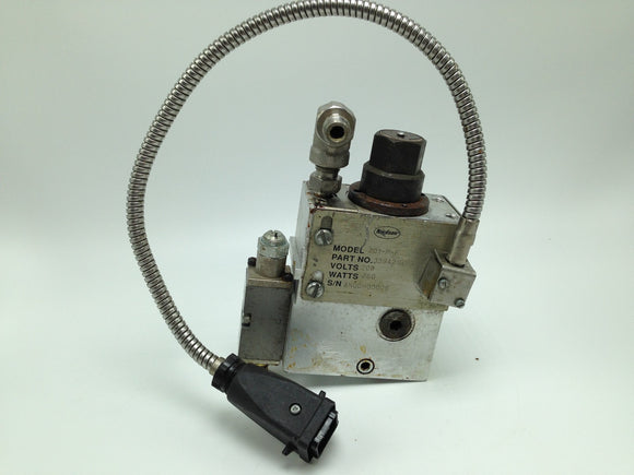 NORDSON APPLICATOR HEAD, MODEL 201-P-F, P/N 139421G