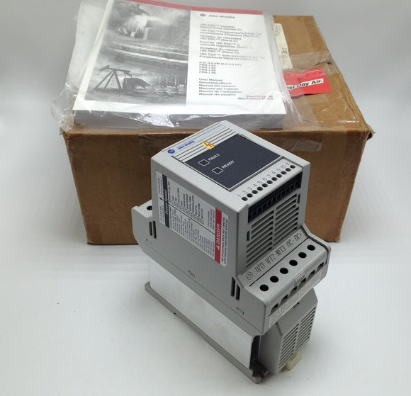 NEW ALLEN BRADLEY SMART SPEED CONTROLLER, SERIES C, P/N 160-AA12NPS1