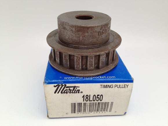NEW MARTIN BUSHING BORE TIMING BELT PULLEY, P/N 18L050