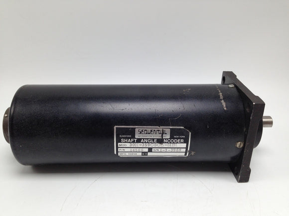 SEQUENTIAL INFORMATION SYSTEMS SHAFT ANGLE ENCODER, 14566, P/N 30H-359CBCD-B1IH
