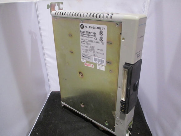 Allen Bradley AC Servo Controller 3KW Axis Module - 1394-AM04 Series B - Refurbished w/ Warranty