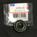 NEW SKF THIN SECTION BALL BEARING PN# 61902-2RZ