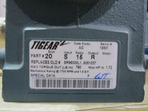 Dodge 20S15R Tigear Reducer