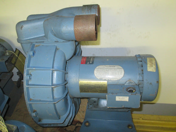 Ametek/EG&G Rotron Regenerative Blower 3HP - DRS5K72E