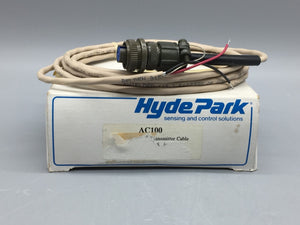 NEW HYDE PARK MICROSONIC TRANSMITTER CABLE 10FT, SERIES SM100 PN# AC100