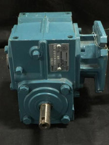 "ELECTRA GEAR 17RH RIGHT HAND GEARBOX 60:1 RATIO 1"" HOLLOW SHAFT S.O# 92E63437 ED"