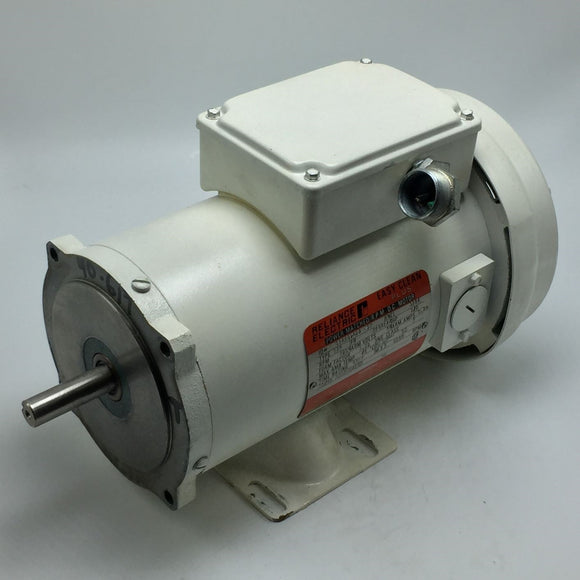 RELIANCE ELECTRIC EASY CLEAN PLUS DC MOTOR 1750RPM, 90V, 1/2HP PN# T56S1702A-XY