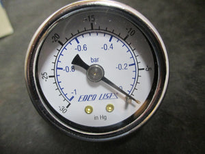 EDCO USA Gauge -30 to 0 in Hg - Lot of 4