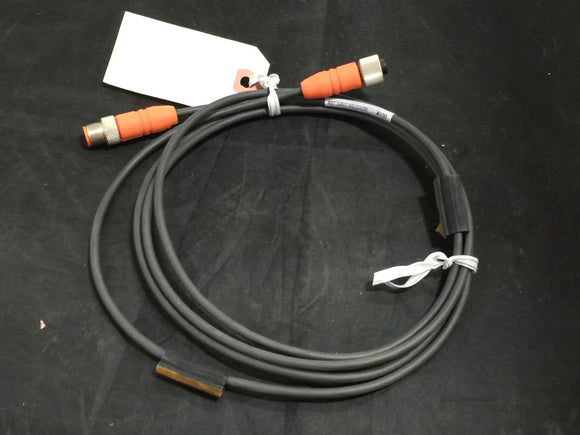 MICRO M12 DOUBLE ENDED CORDSET 300V -RST-3-RKT4-3-224-2M