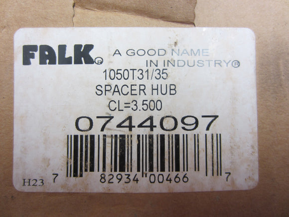 New Falk 1050T31/35 Spacer Hub, CL=3.500, 0744097
