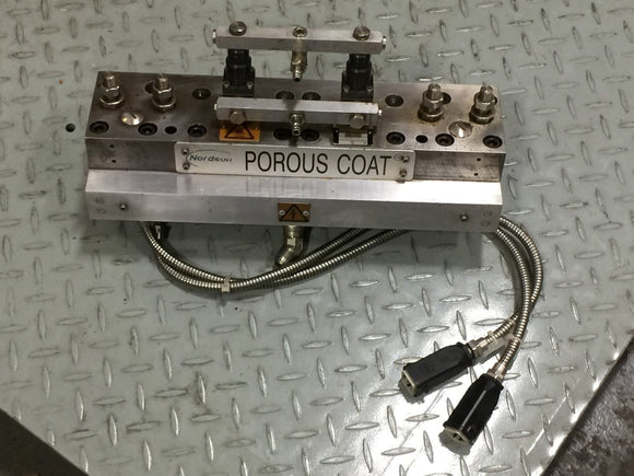 NORDSON BC62/1/2-225 POROUS COAT APPLICATOR S/N: LU04107581 PN# 8050000