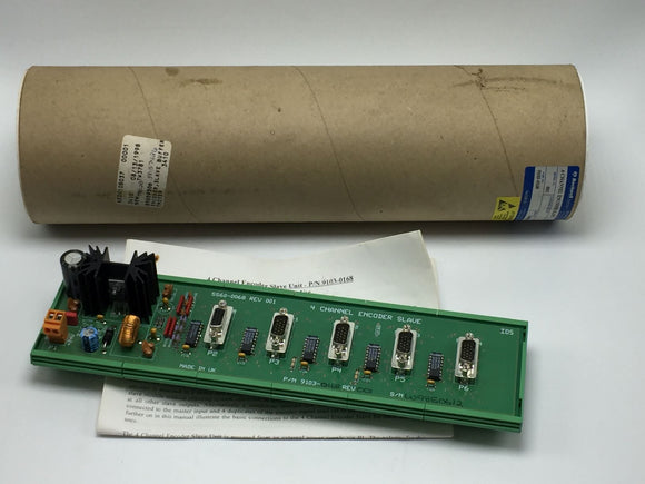 NEW ROCKWELL AUTOMATION 4 CHANNEL ENCODER SLAVE PN# 9103-0168