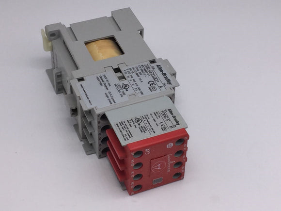 ALLEN BRADLEY GUARDMASTER 24VDC SAFETY RELAY SERIES A PN# 700S-CF440DJC