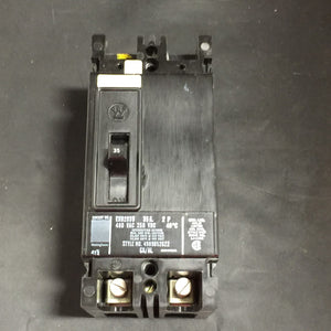 NEW WESTINGHOUSE CIRCUIT BREAKER 35A, 2POLE & 480VAC PN# EHB2035