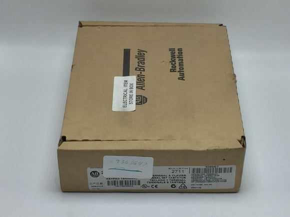 NEW ALLEN BRADLEY FACTORY SEALED PANELVIEW 300 MICRO SER A PN# 2711-M3A18L1
