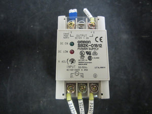 Omron Power Supply - S82-01512