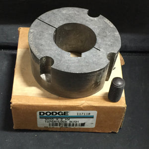 NEW DODGE 3020 X 2 KW TAPER LOCK BUSHING PN# 117118
