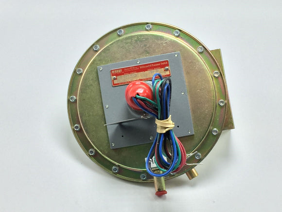 SOR DIFFERENTIAL PRESSURE SWITCH 10PSI/0-12IN WC PN# 107EL-EF12-P1-F0A