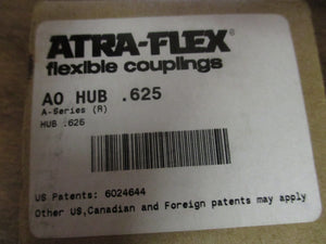 NEW AtraFlex Coupling A0 HUB .625