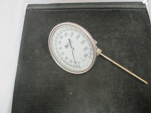 "Weiss Industrial Thermometer 0-300 F 5"" NPT - 0249"