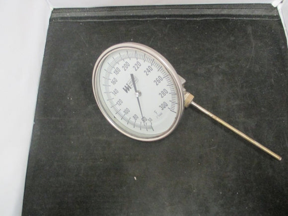 Weiss Industrial Thermometer 0-300 F 5
