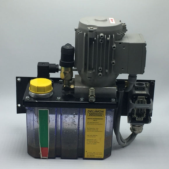 DELIMON LUBRICATION SYSTEM TYPE: ZE 2,7/0,25 WITH MOTOR 230/400V