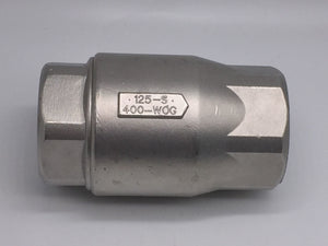 NEW CII STAINLESS STEEL CHECK VALVE 2IN 125-S 400-WOG