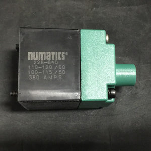NEW NEUMATICS PLUG-IN SOLENOID COIL 2 POSITION 120VAC PN#237-784