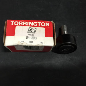 "NEW TORRINGTON CAM FOLLOWER SEALED NEEDLE ROLLER 1-3/8"" PN#CRS-22"