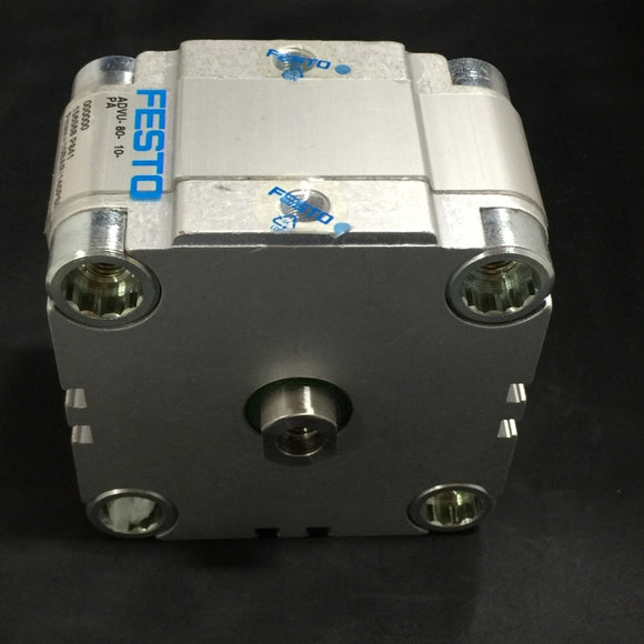 NEW FESTO COMPACT CYLINDER 10 BAR/145 PSI PN# 156568