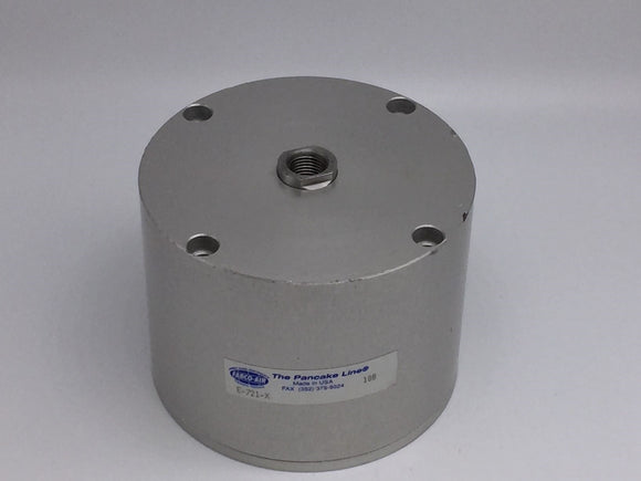 NEW FABCO-AIR THE PANCAKE LINE CYLINDER 3IN BORE 2IN STROKE PN# E-721-X