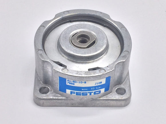 NEW FESTO AV-50-10-B PNEUMATIC CYLINDER 50MM BORE 10MM STROKE PN# 7856