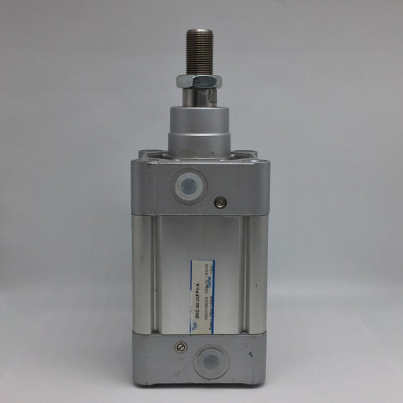 FESTO DNC-80-25PPV-A DOUBLE ACTING CYLINDER 80MM BORE 25MM STROKE PN# 163430