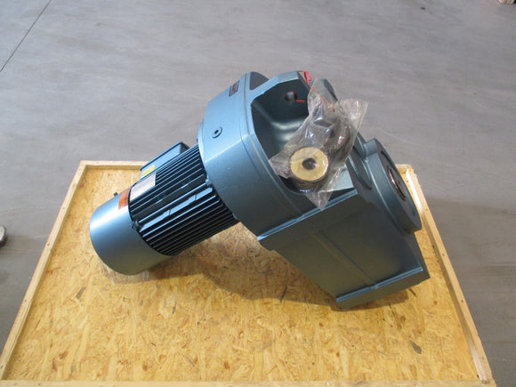 New Sew-Eurodrive AC (Brake) Motor with Gear Reducer - DFV132S4BMG8HF