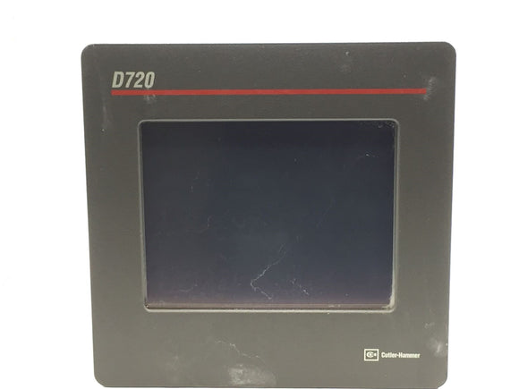 CUTLER HAMMER D720 OPERATOR INTERFACE UNIT 120/230VAC 1.6A 100W PN# DSJ0033