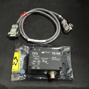 NEW ACCU SORT DEVICENET CONVERTER TO RS232 INTERFACE W/CORD PN# FB-066