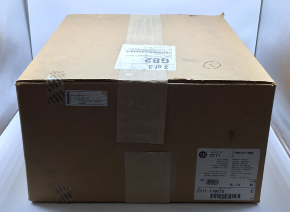 NEW FACTORY SEALED ALLEN BRADLEY PANELVIEW 1000C SERIES E PN# 2711-T10C15