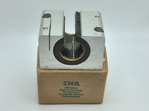 NEW INA LINEAR BALL BEARING AND HOUSING UNIT 50MM BORE PN# KGNOS-50-B-PP-AS