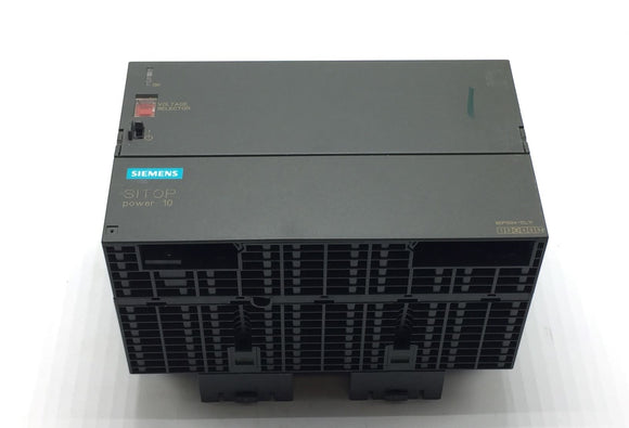 SIEMENS SITOP POWER 10 POWER SUPPLY 24VDC/10A PN# 6EP1334-1SL11