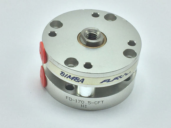 NEW BIMBA FLAT-1 CYLINDER 1-1/2IN BORE 1/2IN STROKE PN# FO-170.5-CFT