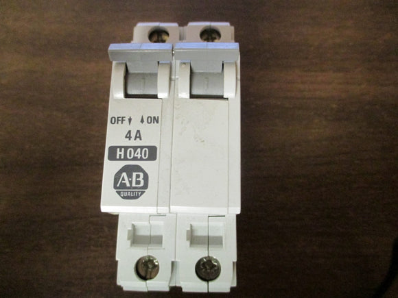 Allen Bradley Energy Limiting 2 Pole Circuit Breaker - 1492-CB2H040
