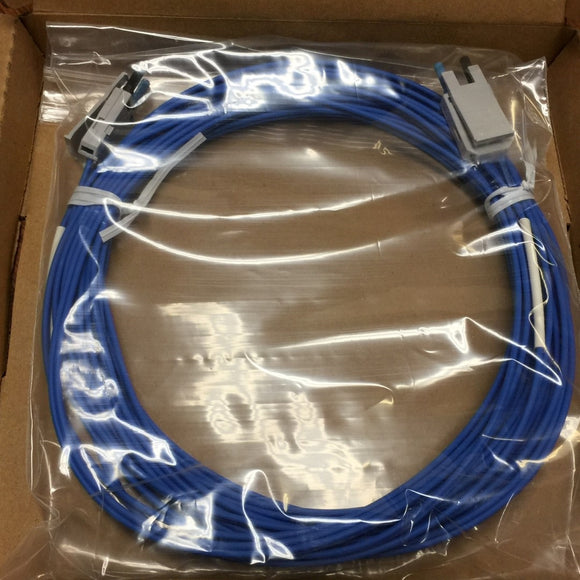 NEW ALLEN BRADLEY 200 MICRON CABLE ASSEMBLY 10M SERIES A PN# 1786-FS10